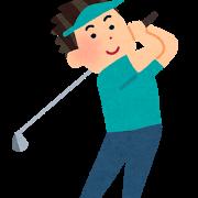 ゴルフ初心者一ヶ月ぶりのゴルフの練習! 上手く打てれば儲けもの?