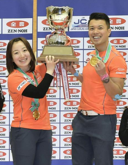 カーリング混合ダブルス LS北見藤澤とSC軽井沢ク山口が優勝!世界選手権へ